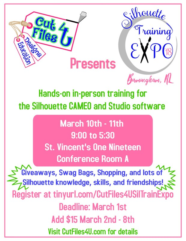 Flyer Silhouette Training Expo 2018 March